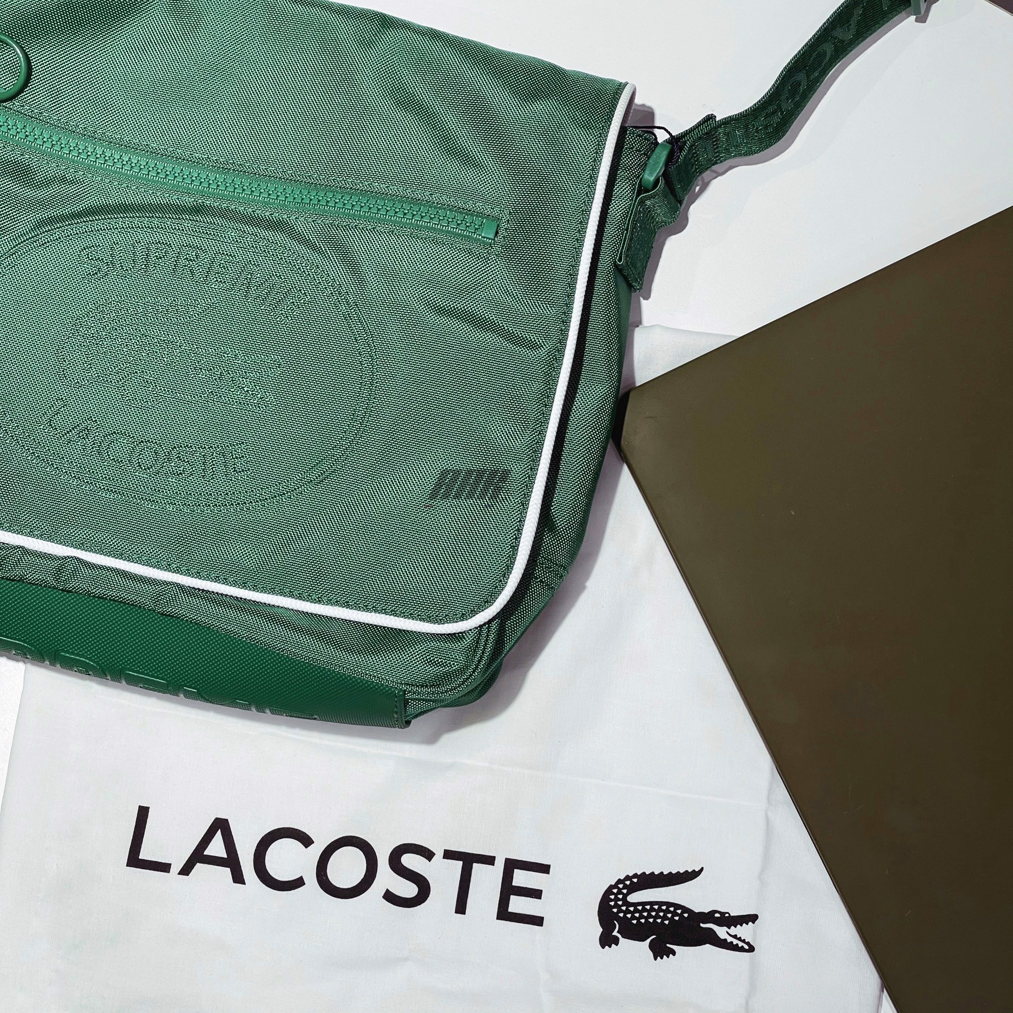 SUPREME X LACOSTE MESSENGER BAG