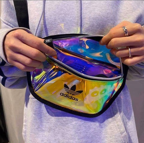 ADIDAS HOLOGRAM WAISTBAG
