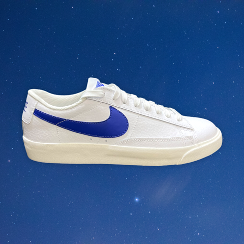 NIKE BLAZER LOW LEATHER ASTRONOMY BLUE CI6377 107