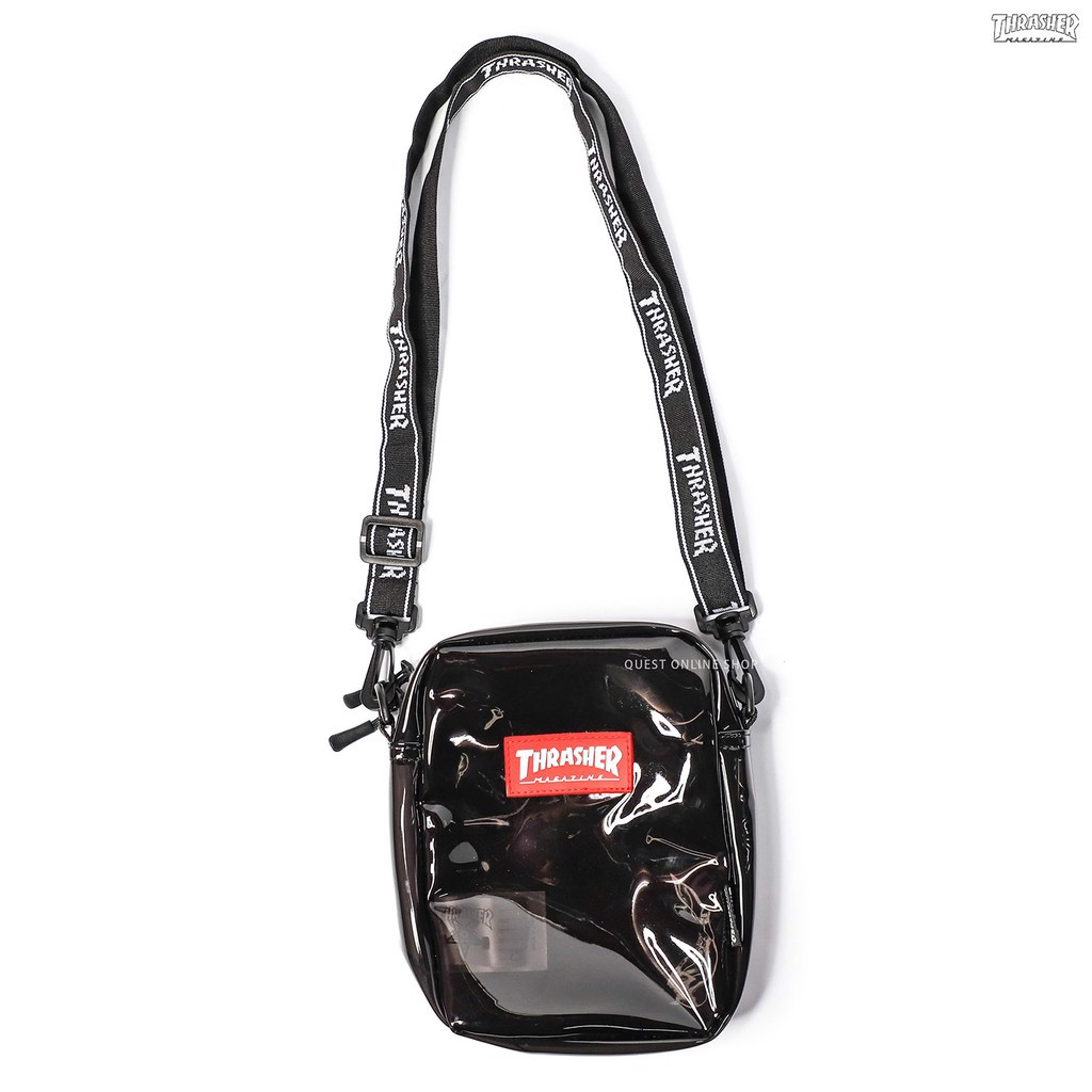 THRASHER CLEAR SHOULDER BAG