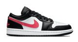 JORDAN 1 LOW BLACK SIREN RED DC0774 004