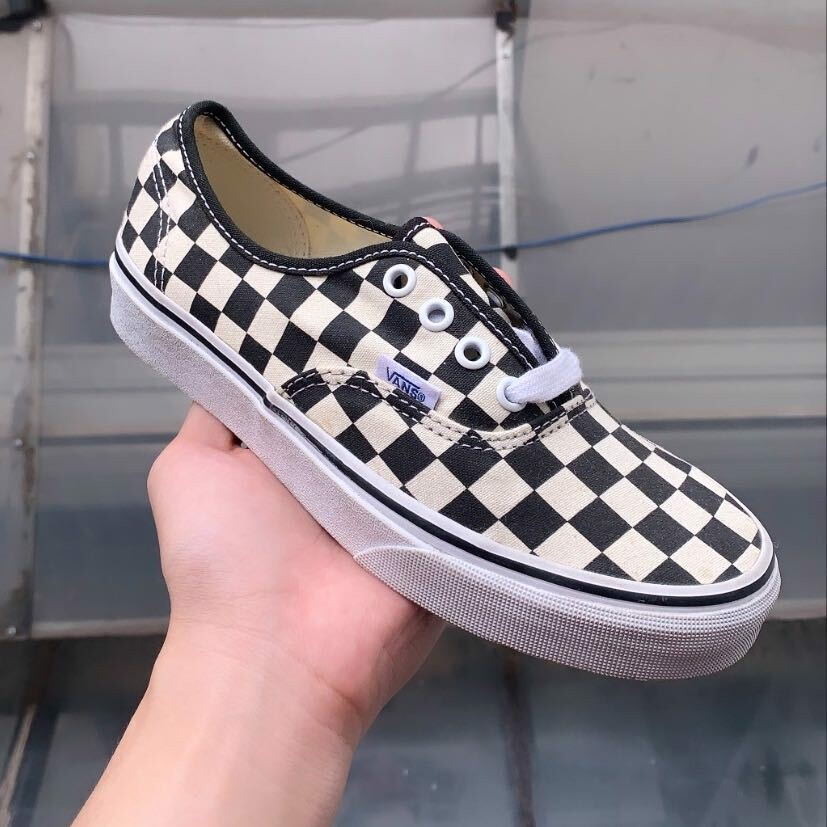 VANS AUTHENTIC CHECKERBOARD - FULL BOX