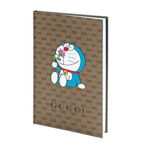 GUCCI X DORAEMON NOTEBOOK