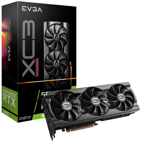 EVGA GeForce RTX 3080 XC3 ULTRA GAMING – 10GB GDDR6X