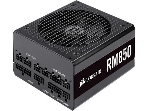Corsair RM Series 850 ( 2019 ) – 80 Plus Gold – Full Modular