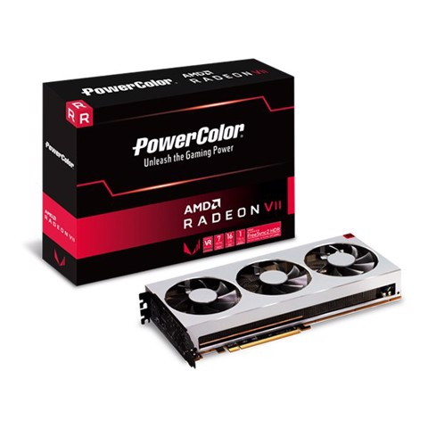 PowerColor Radeon™ AMD VII 16GB HBM2 NEW (3fan)  NEW