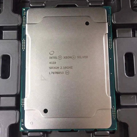 Intel Xeon Silver 4110 8C/16T 2.1 to 3.0 GHz 11MB Cache SK3647
