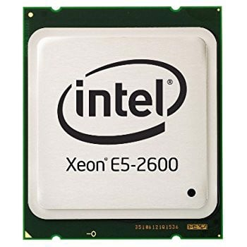 Intel Xeon E5 2680 / 2.7GHz turbo 3.50GHz / 8 Cores 16 Threads