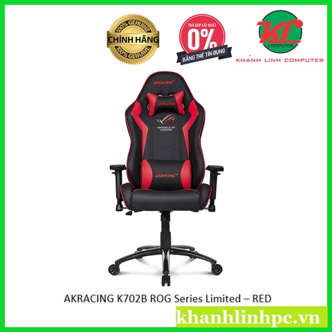 AKRACING K702B ROG Series Limited - RED