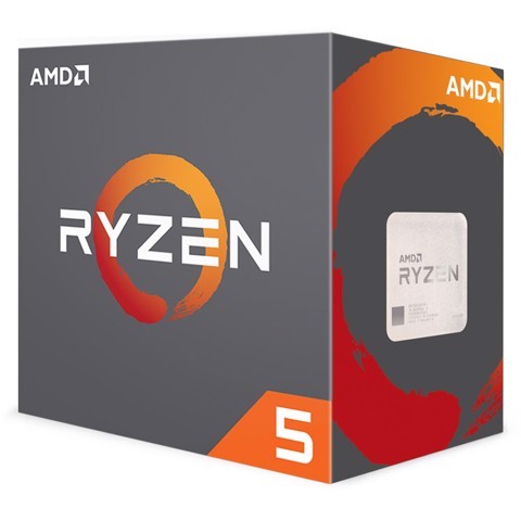 CPU AMD Ryzen 5 2600 3.4 GHz (3.9 GHz with boost) / 19MB / 6 cores 12 threads