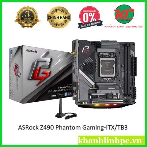ASRock Z490 Phantom Gaming-ITX/TB3