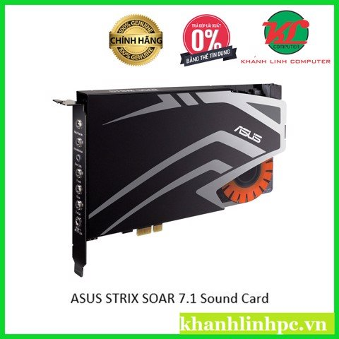 ASUS STRIX SOAR 7.1 PCIe gaming sound card