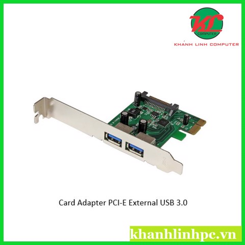 Card Adapter PCI-E External USB 3.0