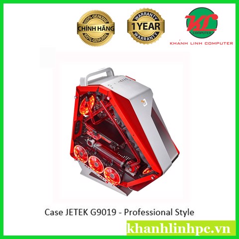 Case JETEK G9019 - Professional Style for Gaming/Workstation
