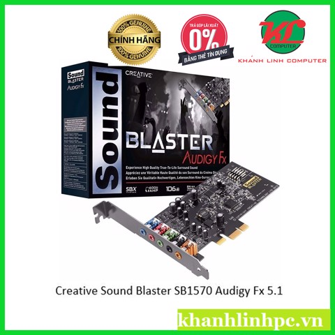 Creative Sound Blaster SB1570 Audigy Fx 5.1