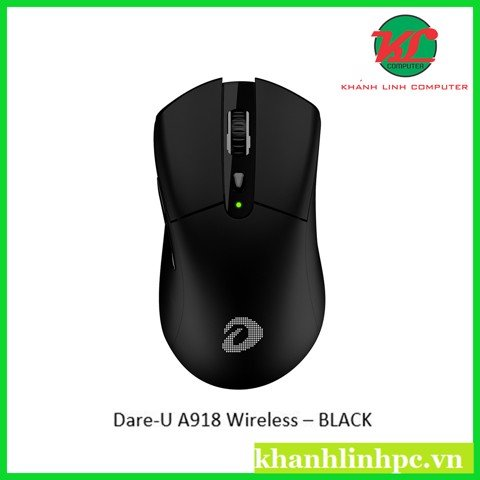 Chuột Gaming Dare-U A918 Wireless – BLACK