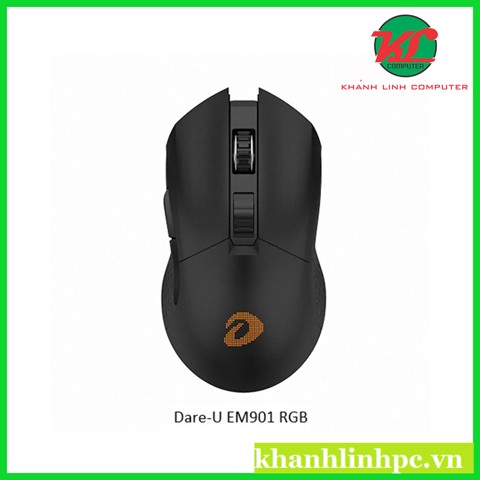 Chuột Gaming Dare-U EM901 Wireless RGB