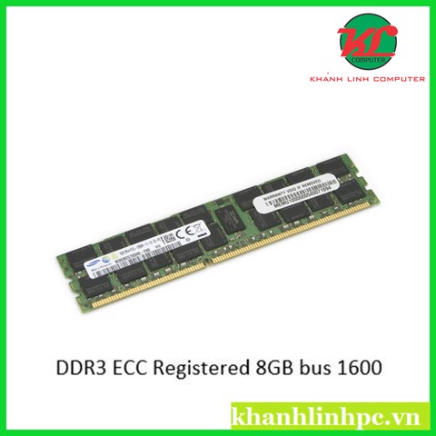 RAM DDR3 ECC Registered 8GB bus 1600 (dành cho workstation socket 2011v1)
