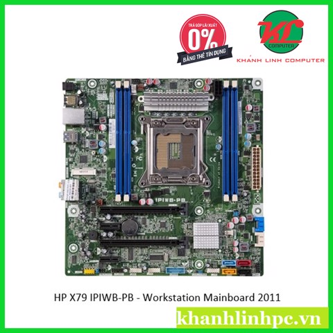 HP X79 IPIWB-PB - Workstation Mainboard 2011