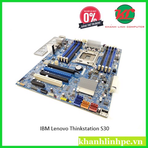 IBM Lenovo Thinkstation S30 - Workstation socket 2011 (Support: CPU Xeon E5-2600 series V2/ Ram: DDR3 /DR3 ECC REG)
