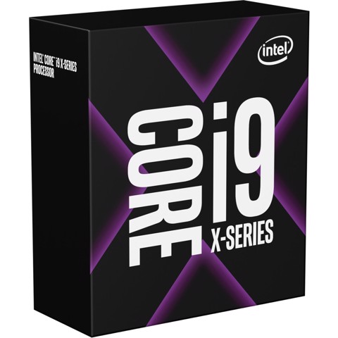 CPU Intel Core i9 9900X 3.5Ghz Turbo 4.4Ghz / 19.25MB / 10 Cores, 20 Threads