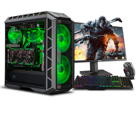 Máy Bộ PC Gaming (CPU Core i5-9400F / RAM 8GB / VGA GTX 1660 6GB)