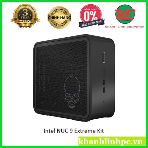 Intel NUC 9 Extreme Kit - Intel Core i7-9750H