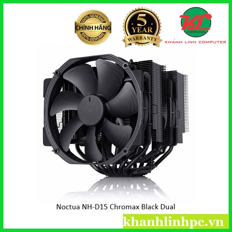 Noctua NH-D15 Chromax Black Dual - Top air Cooler