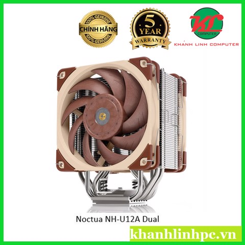 Noctua NH-U12A Dual High Performance Fans - Top air cooler