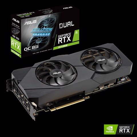 ASUS Dual GeForce RTX 2070 SUPER EVO OC edition 8GB GDDR6