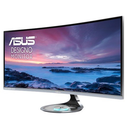 ASUS Designo Curve MX34VQ Ultra-wide Curved Monitor
