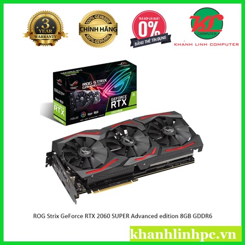ROG Strix GeForce RTX 2060 SUPER Advanced edition 8GB GDDR6