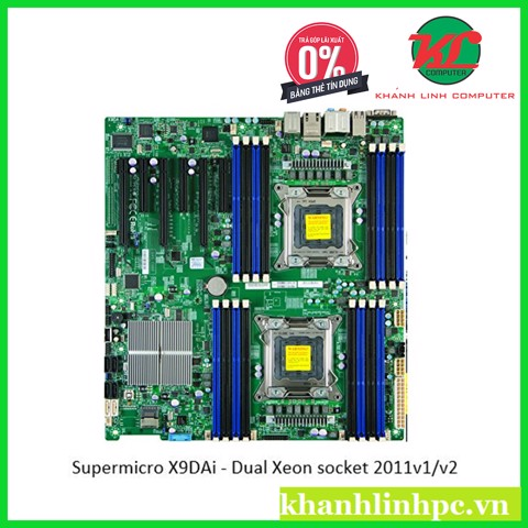 Supermicro X9DAi - Workstation Dual Xeon socket 2011v1/v2