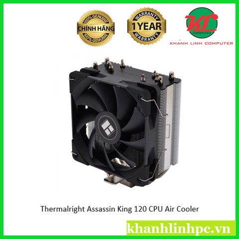 Thermalright Assassin King 120 - 5HP Xtreme CPU Cooler 1Fan AK120