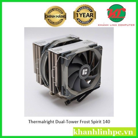 Thermalright Dual-Tower Frost Spirit 140 – CPU Cooler (FS140)