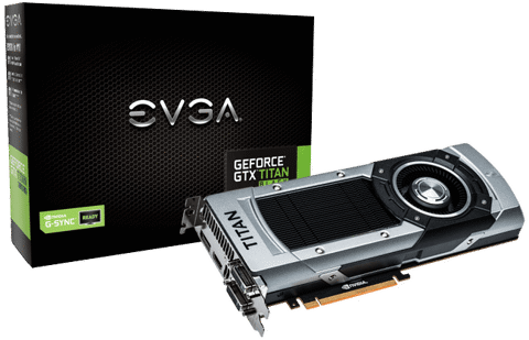 EVGA GTX Titan Black 6GB
