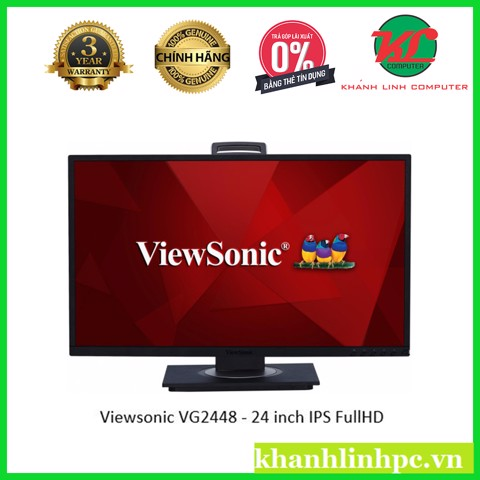 Viewsonic VG2448 - 24 inch IPS FullHD (1920x1080) SuperClear