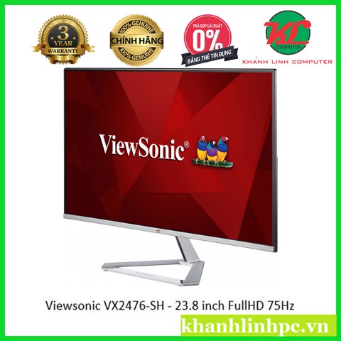 Viewsonic VX2476-SH - 23.8 inch FullHD 75Hz (1920x1080) SuperClear AH-IPS