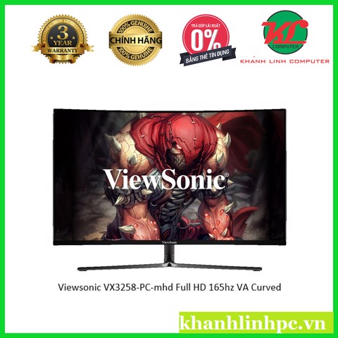Màn hình Viewsonic VX3258-PC-mhd (1920x1080/165Hz/Curved/VA Panel)