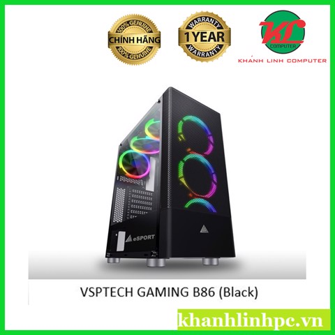 VSPTECH GAMING B86 (Black)