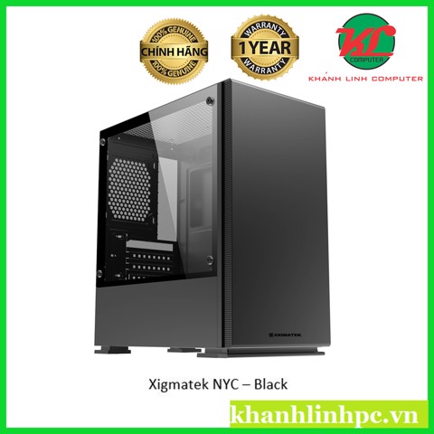 Xigmatek NYC – Black