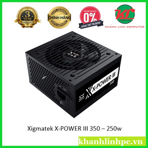 Xigmatek X-POWER III 350 – 250w