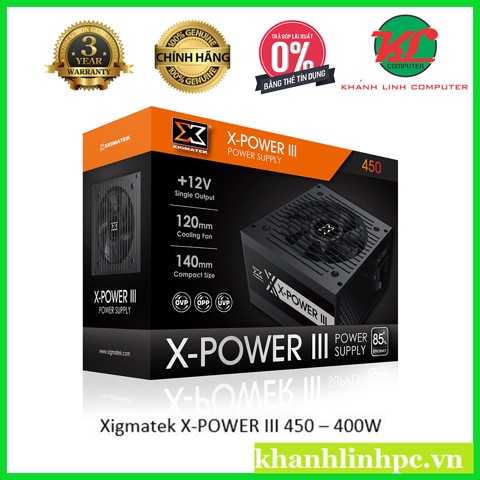 Xigmatek X-POWER III 450 – 400w