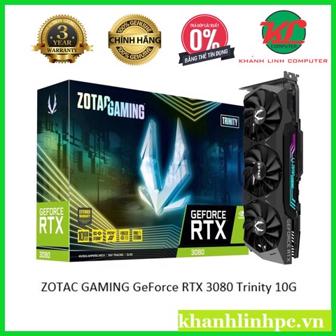 ZOTAC GAMING GeForce RTX 3080 Trinity 10G