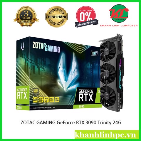 ZOTAC GAMING GeForce RTX 3090 Trinity 24G