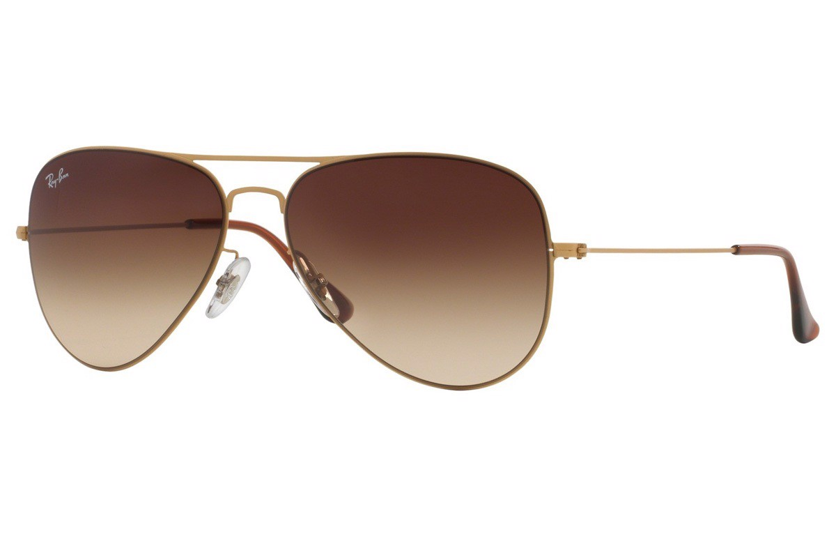 KÍNH MÁT UNISEX RAY-BAN AVIATOR FLAT METAL S-RAY 3513-149/13(58IT)