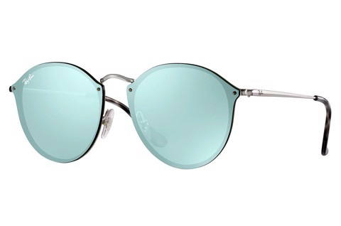 KÍNH MÁT UNISEX RAY-BAN BLAZE ROUND RB3574N-003/30(59IT)