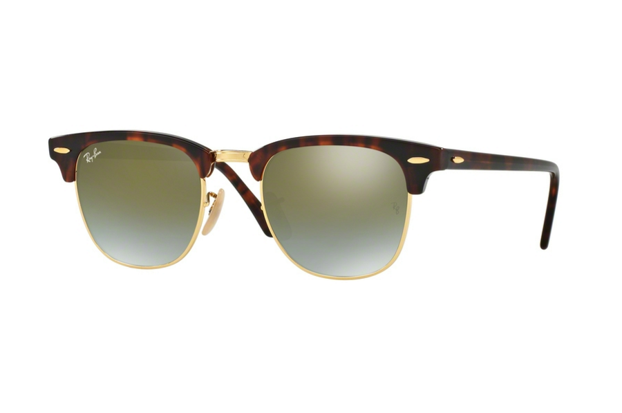 KÍNH MÁT UNISEX RAY-BAN CLUBMASTER FLASH LENSES GRADIENT S-RAY 3016-990/9J(51CN)
