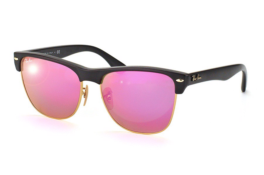 KÍNH MÁT NAM RAY-BAN CLUBMASTER OVERSIZED FLASH LENSES S-RAY 4175-8774T(57IT)