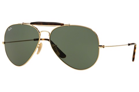 KÍNH MÁT NAM RAY-BAN OUTDOORSMAN HAVANA COLLECTION S-RAY 3029-181(62IT)